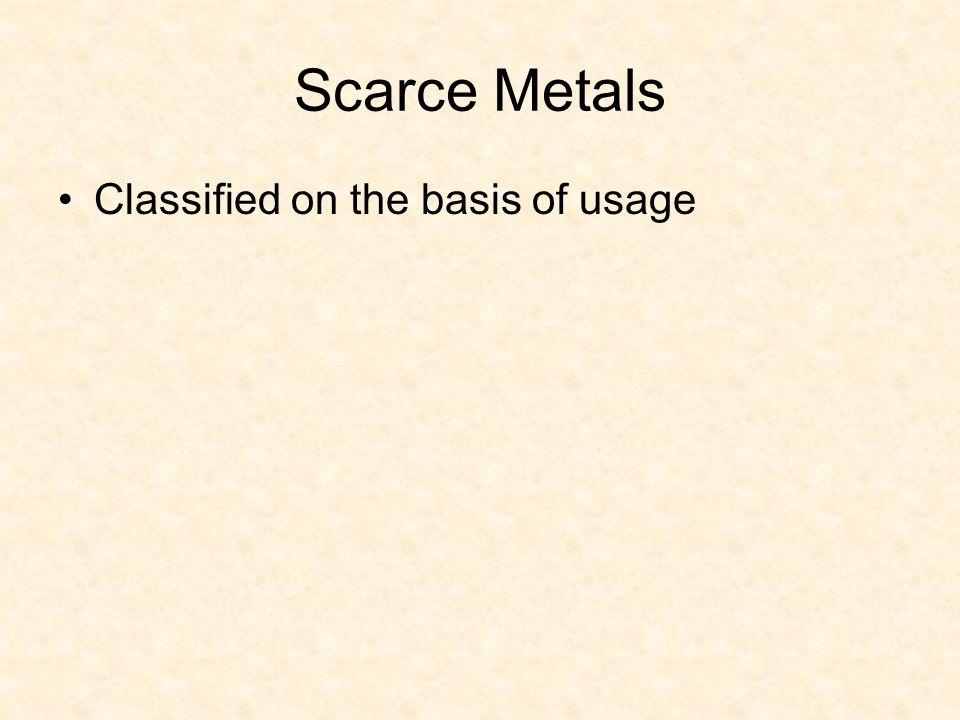 Ferrous or ferro-alloy VVanadium NiNickel Mo Molybdenum Cr Chromium CoCobalt WTungsten