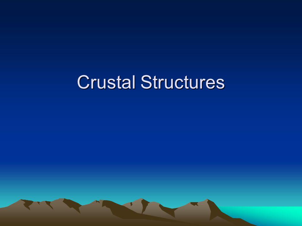 Crustal Structures