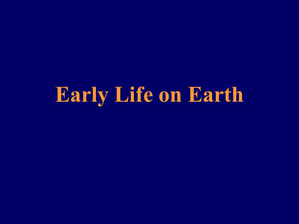 The Oxygen Revolution Q.Why might photosynthesis have established itself on the early earth.