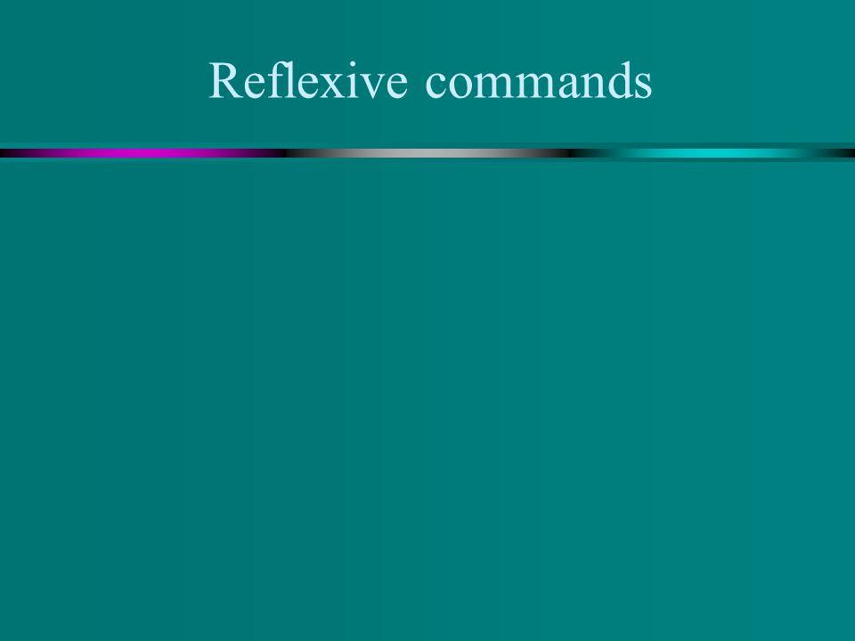 Ud. and Uds. Commands u On negative commands, place the DOP before the commands. u Ex. No apagar las luces. u No las apague/ No las apaguen
