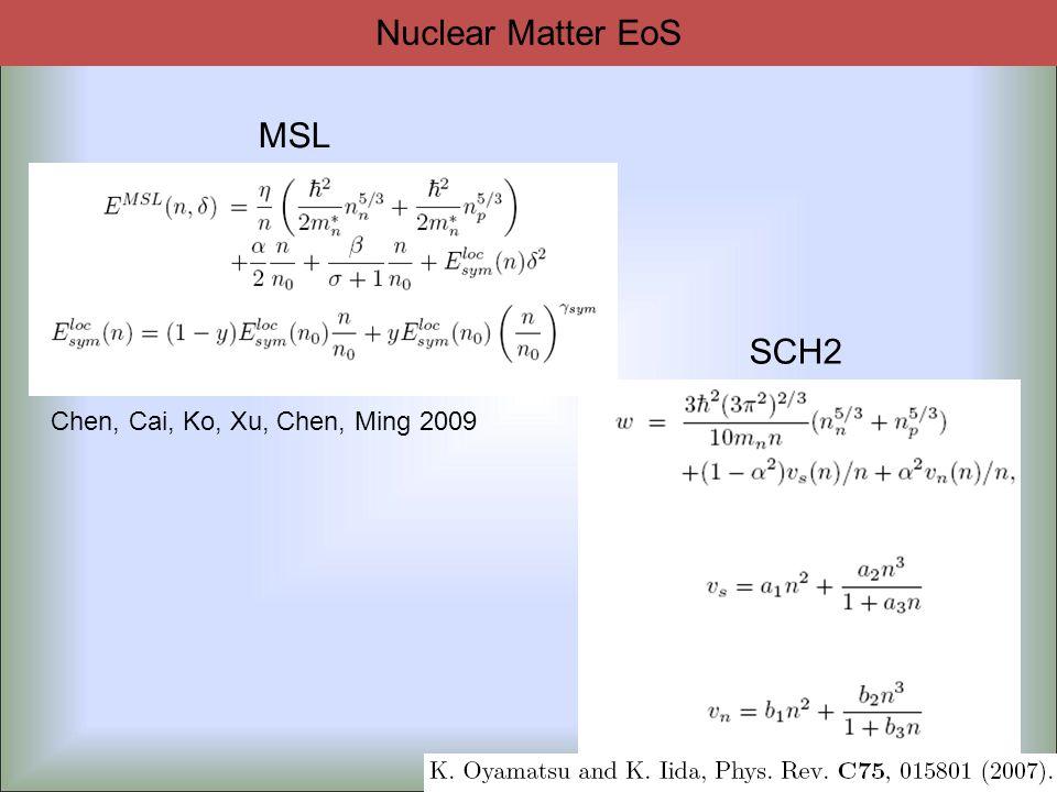 SCH2 MSL Chen, Cai, Ko, Xu, Chen, Ming 2009