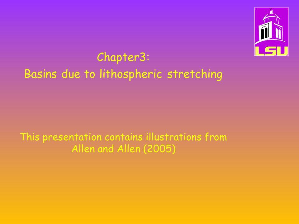 Lithospheric necking