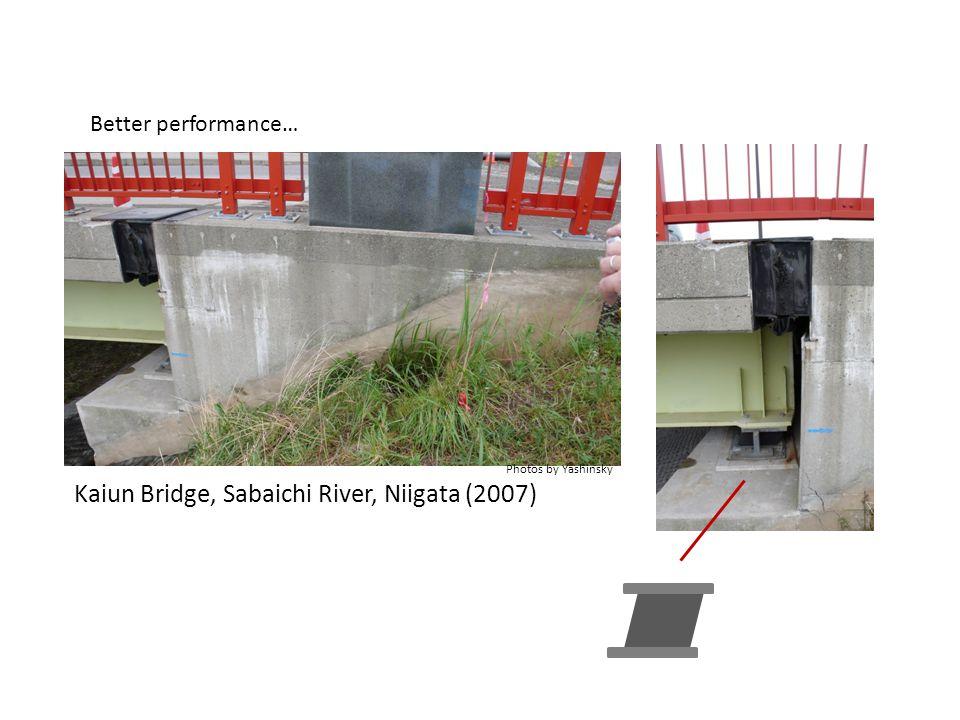Kaiun Bridge, Sabaichi River, Niigata (2007) Better performance… Photos by Yashinsky