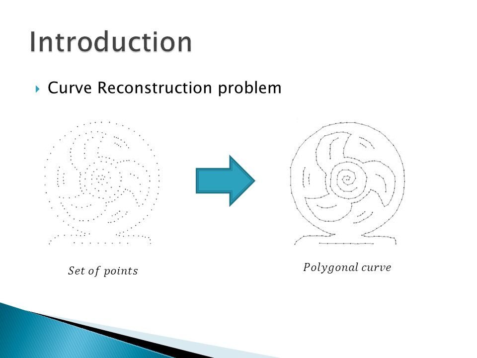  Curve Reconstruction problem