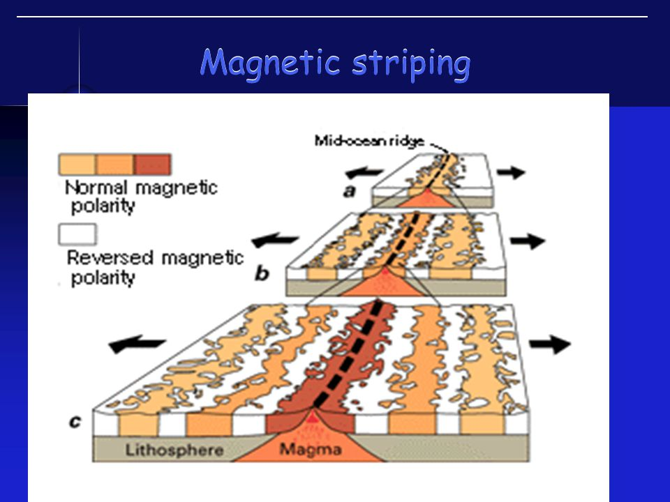 Magnetic striping