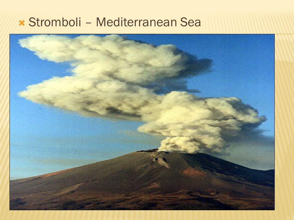  Stromboli – Mediterranean Sea