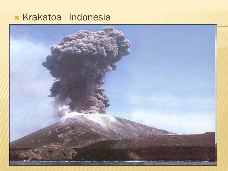  Krakatoa - Indonesia
