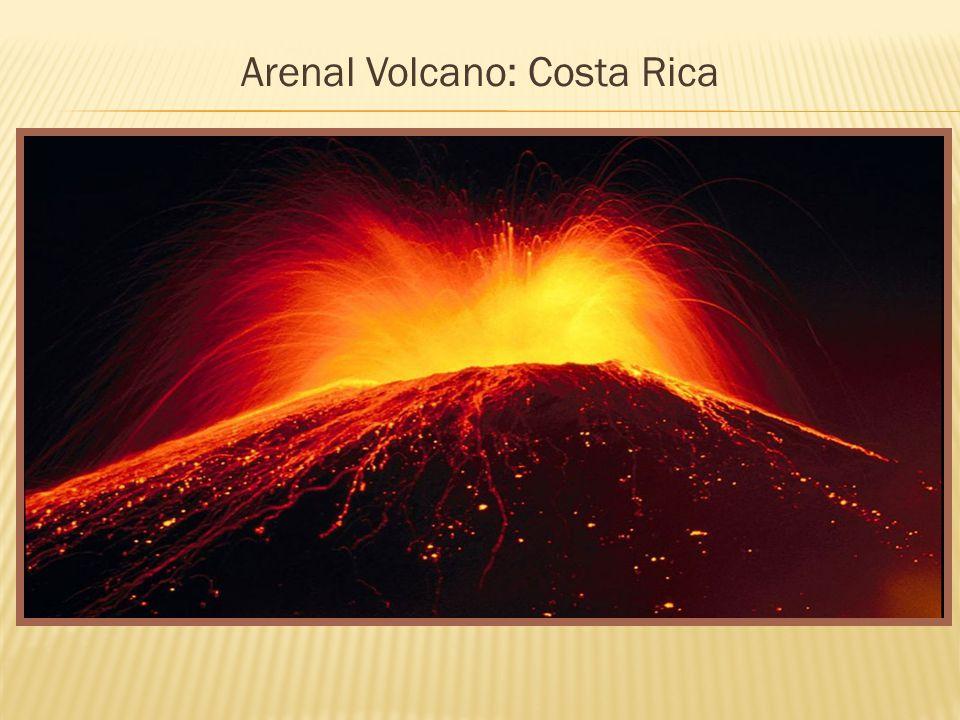 Arenal Volcano: Costa Rica