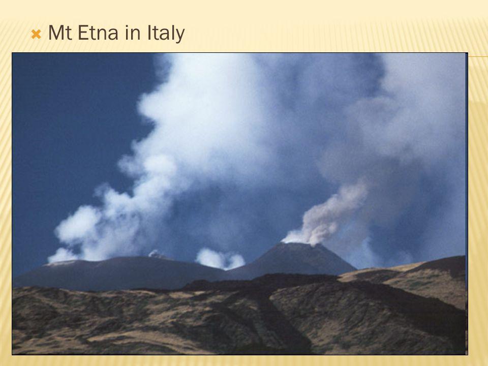  Mt Etna in Italy