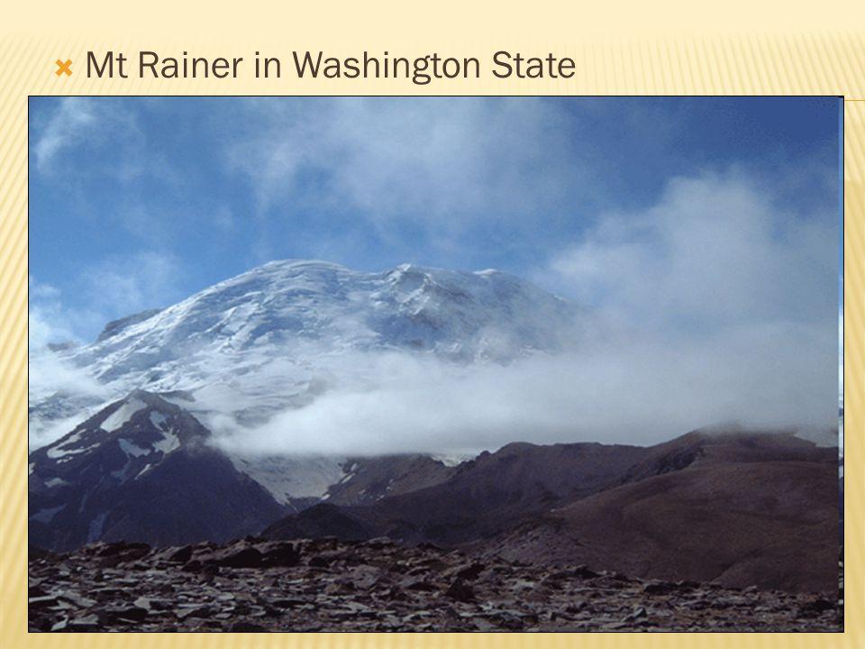  Mt Rainer in Washington State