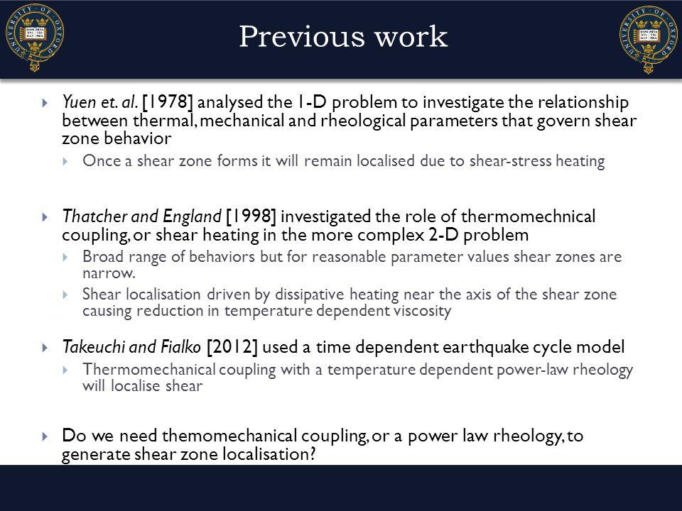 Previous work  Yuen et. al.