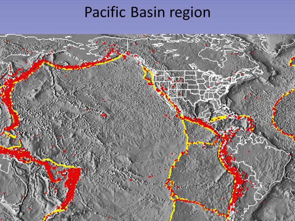 Pacific Basin region