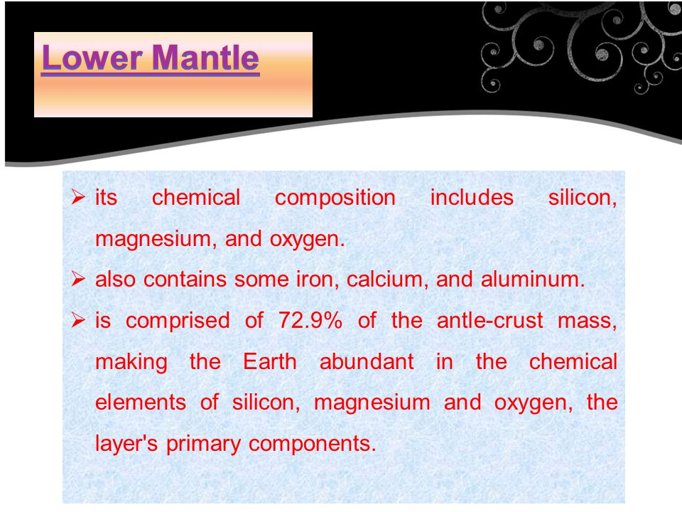  its chemical composition includes silicon, magnesium, and oxygen.