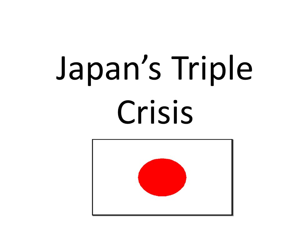 Japan's Triple Crisis