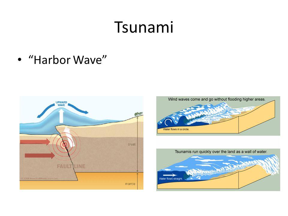 Tsunami Harbor Wave