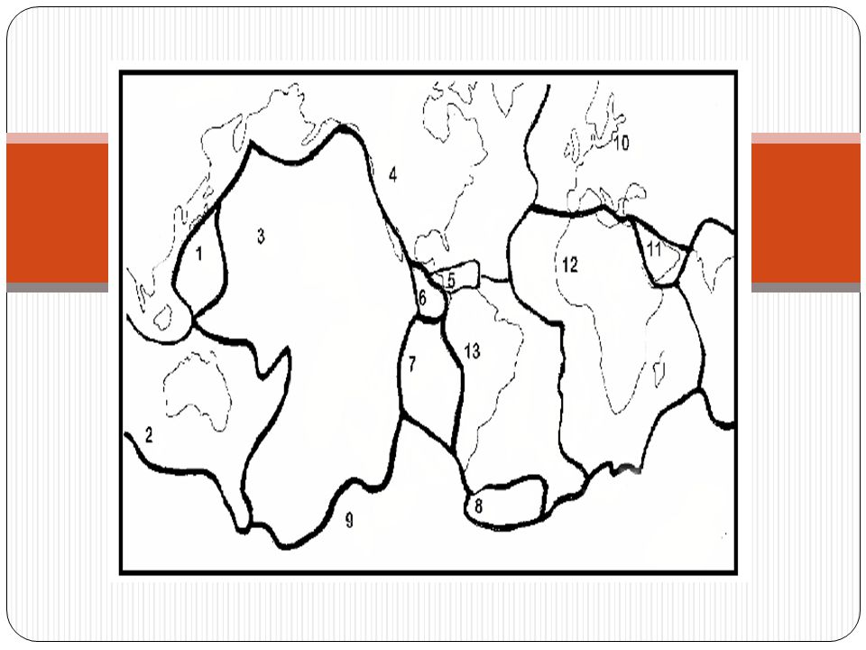 UNDERSTANDING QUESTIONS 1.What are tectonic plates.
