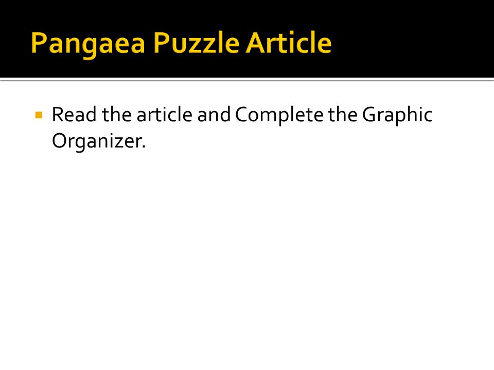  Read the article and Complete the Graphic Organizer.