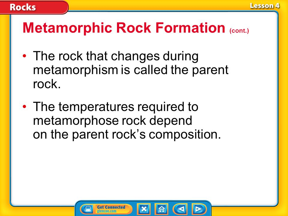 Lesson 4-1 Plastic deformation is the permanent change in the shape of rock by bending and folding.Plastic deformation Plastic deformation occurs duri