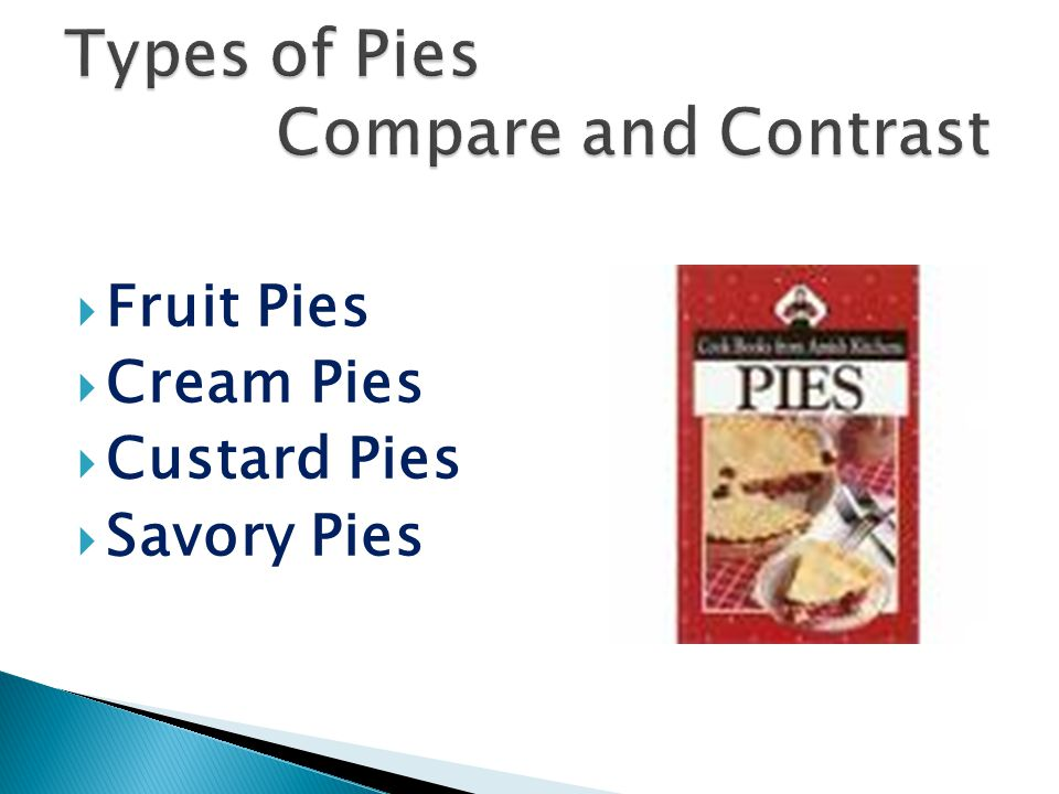  Fruit Pies  Cream Pies  Custard Pies  Savory Pies