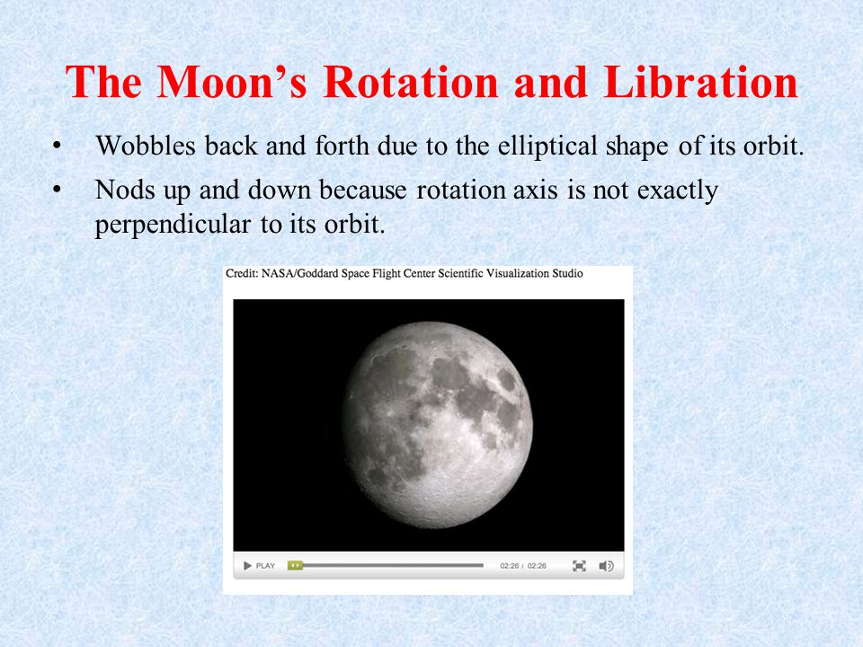 Some areas of the Moon are relatively smooth, whereas other areas are heavily cratered.