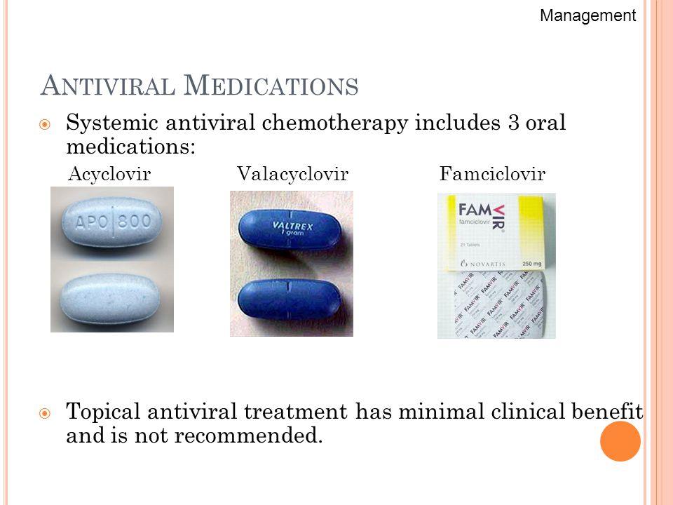 antiviral medicine for herpes