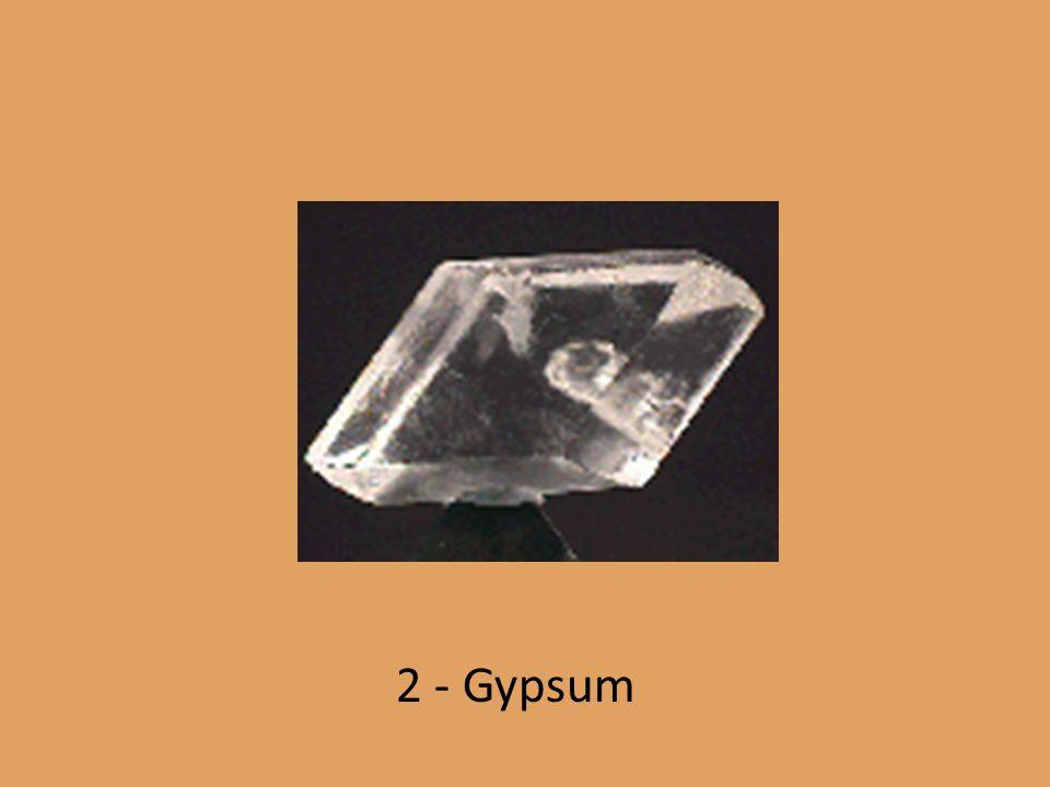 2 - Gypsum