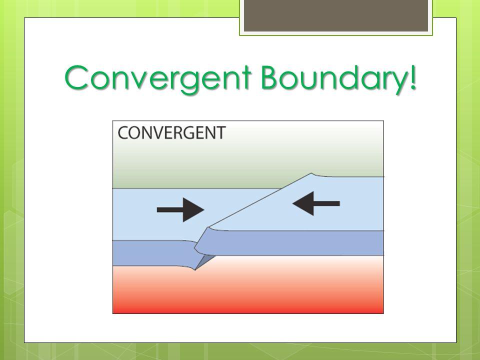 Convergent Boundary!