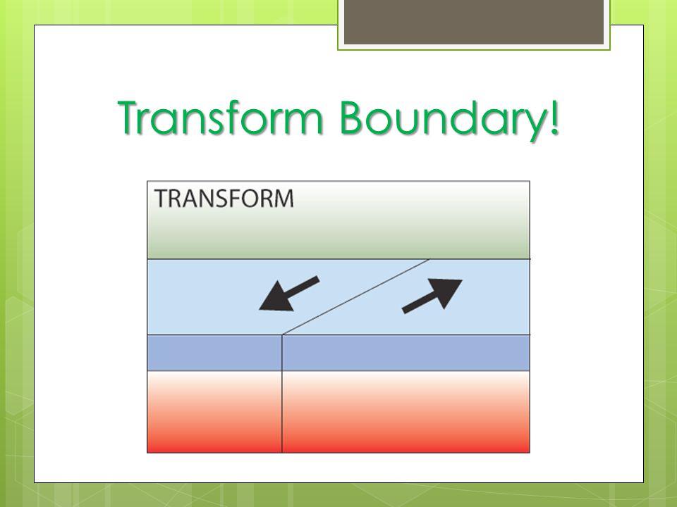 Transform Boundary!