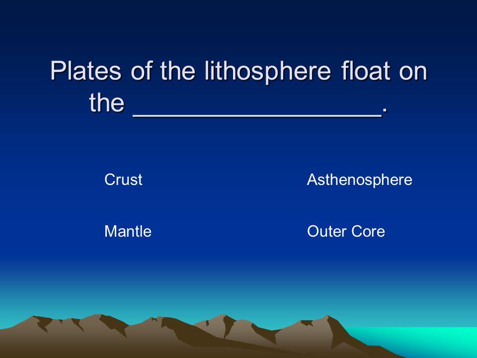 True or False Scientists accepted Wegener's Theory of Continental Drift. TrueFalse