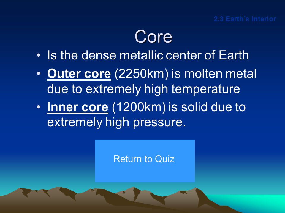Crust Is the thin (5-40km), rocky outer layer of Earth Ocean crust is thin and dense compared to continental crust.