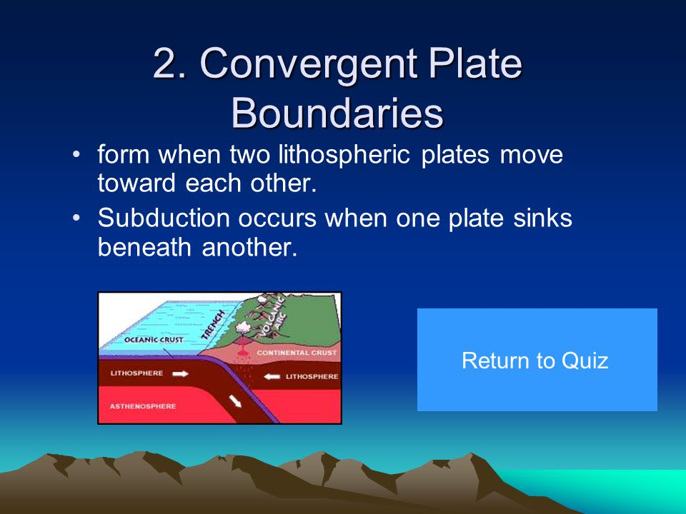 Plate Tectonics in California A convergent plate boundary resides off the northern shore of California. We live on the west side of the boundary on th