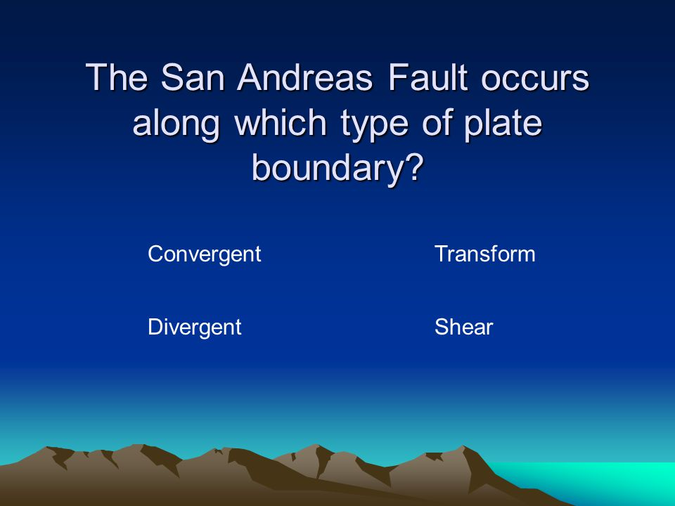 About how fast do tectonic plates move? A few centimeters per year A few meters per year A few kilometers per year A few miles per year