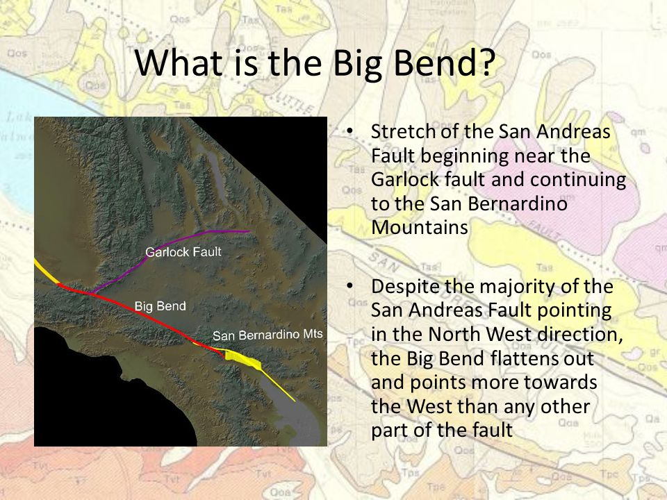 What is the Big Bend.
