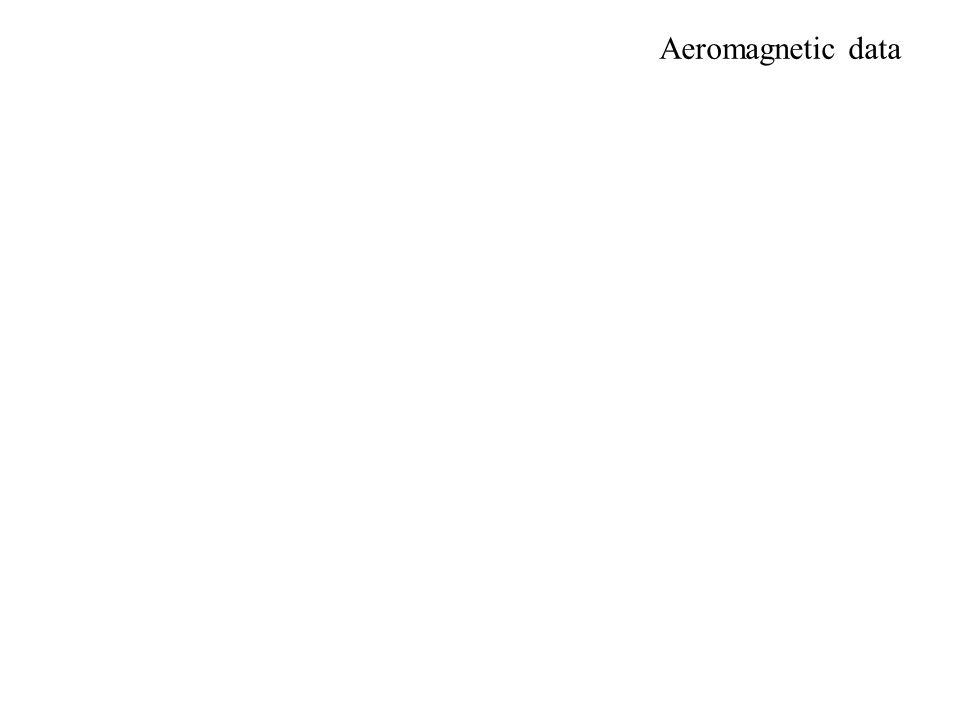 Aeromagnetic data