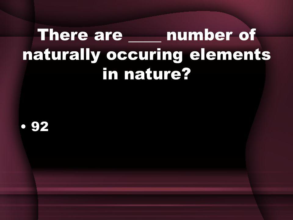 What 2 elements did Mendeleev leave blank spaces for? Gallium - Ga and Germanium - Ge