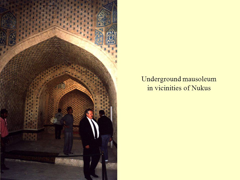 Underground mausoleum in vicinities of Nukus