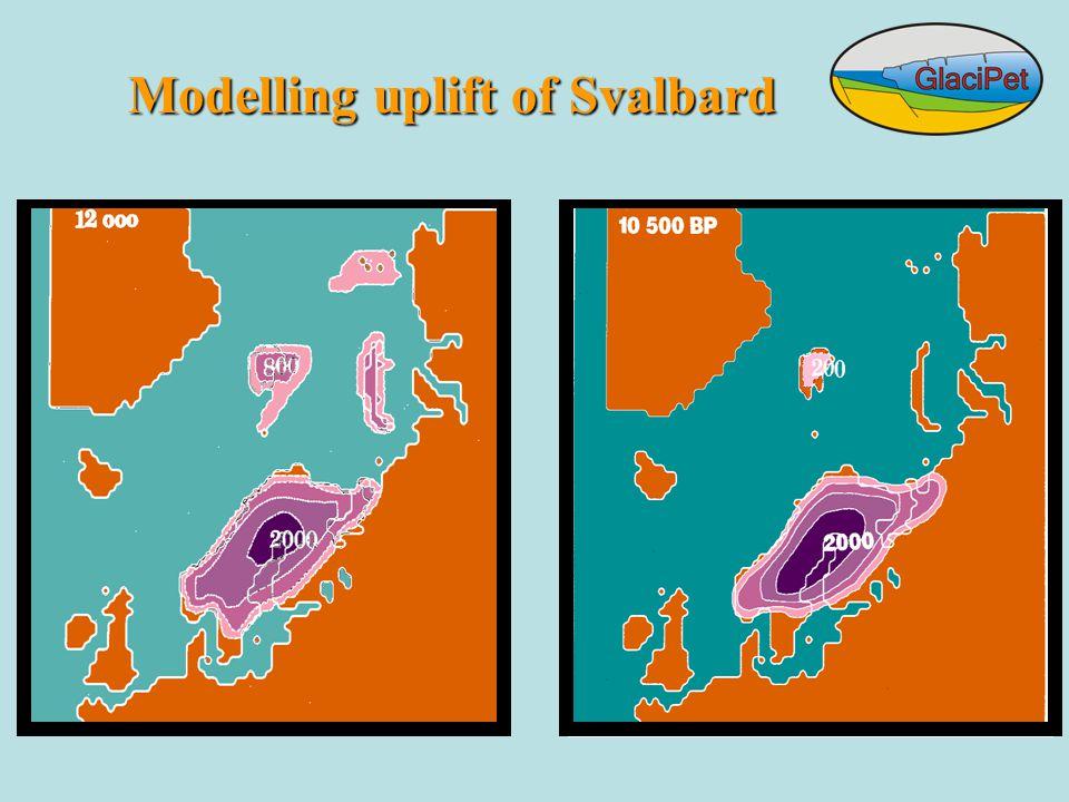Modelling uplift of Svalbard