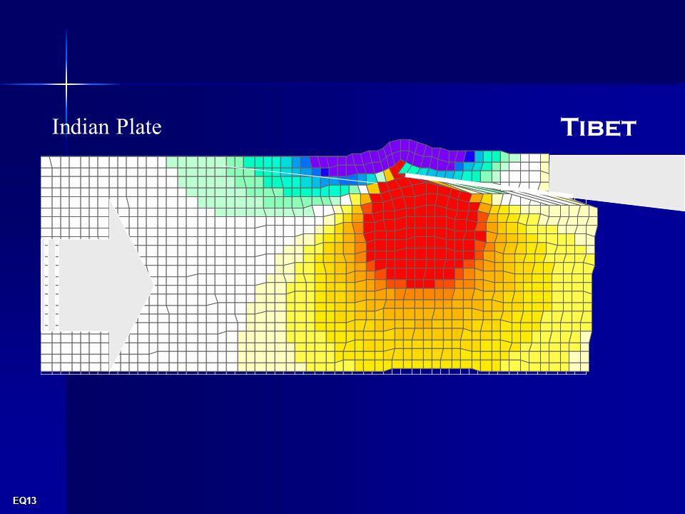 EQ13 Tibet Indian Plate