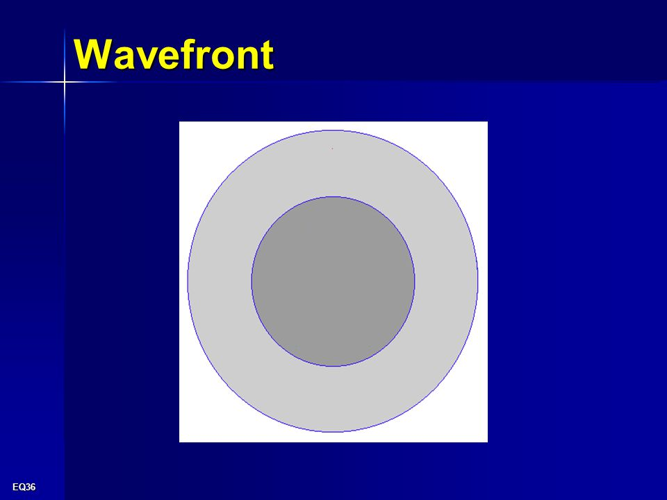 EQ36 Wavefront