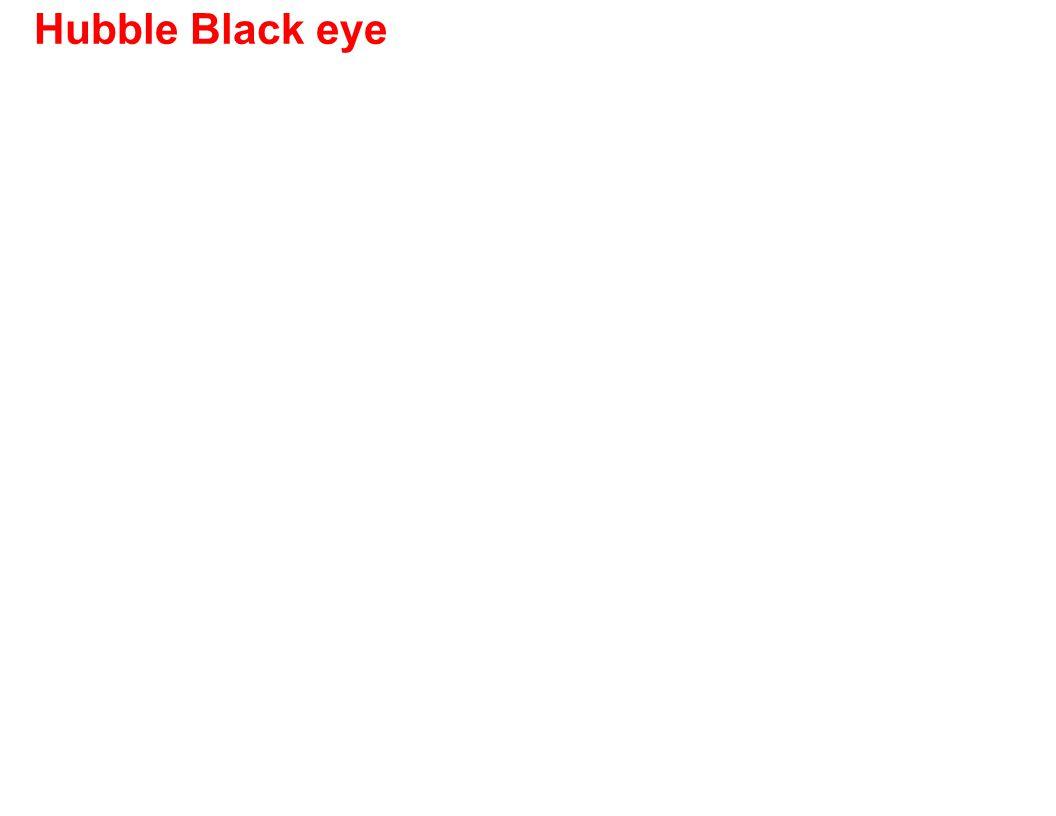 Hubble Black eye