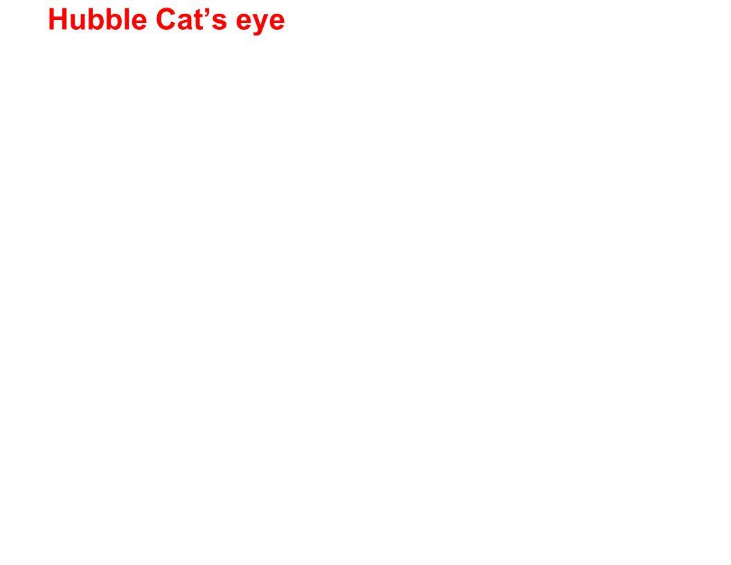 Hubble Cat's eye