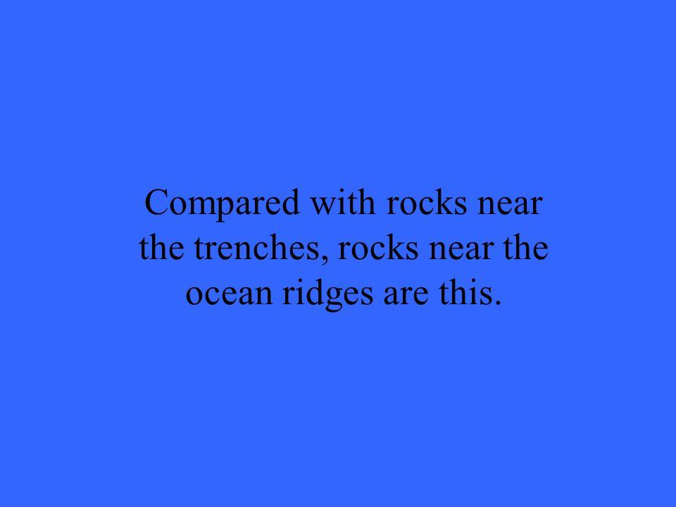 What is ocean crust?