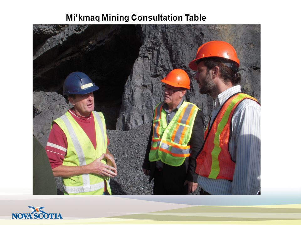 Mi'kmaq Mining Consultation Table