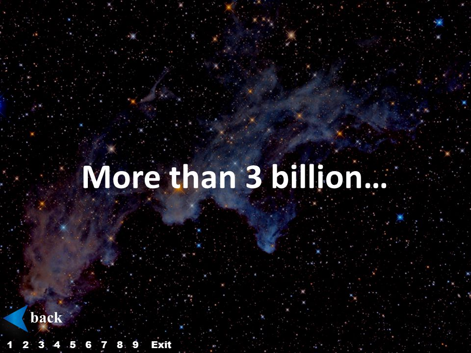 More than 3 billion… back 123456879Exit