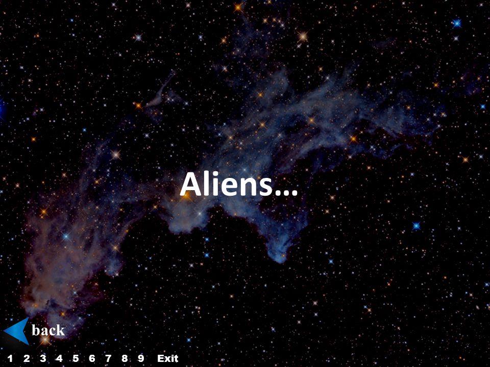 Aliens… back 123456879Exit