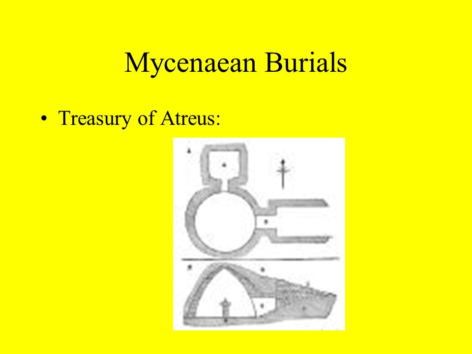 Mycenaean Burials Treasury of Atreus: