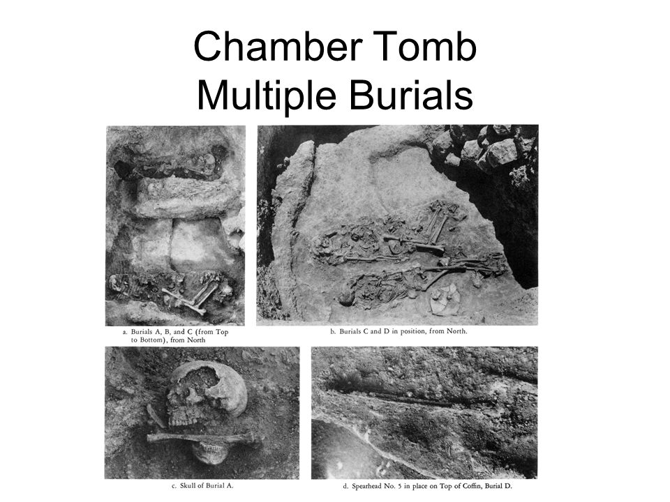 Chamber Tomb Multiple Burials