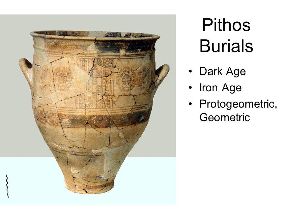Pithos Burials Dark Age Iron Age Protogeometric, Geometric