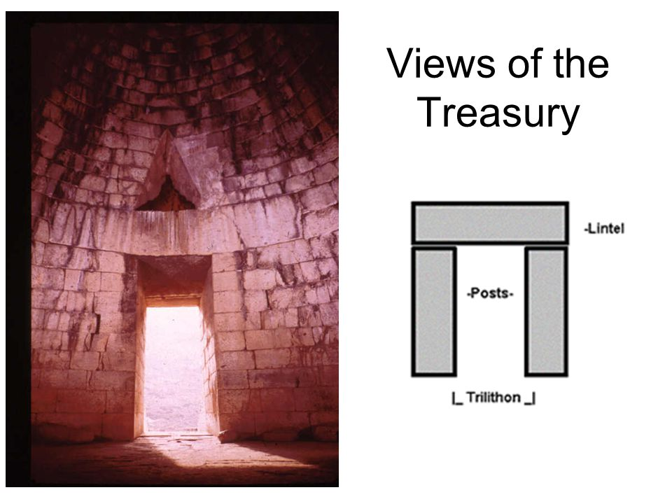 Roof Construction Treasury of Atreus