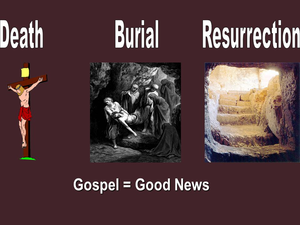 Gospel = Good News